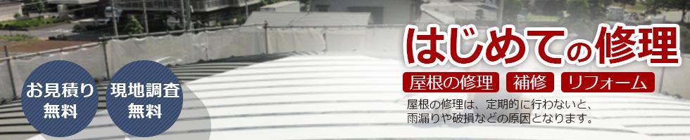 屋根は、定期的にメンテナンスをしないと重症化してしまいます。