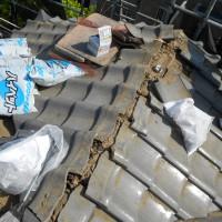 東京都葛飾区の瓦屋根の修理工事の施工事例