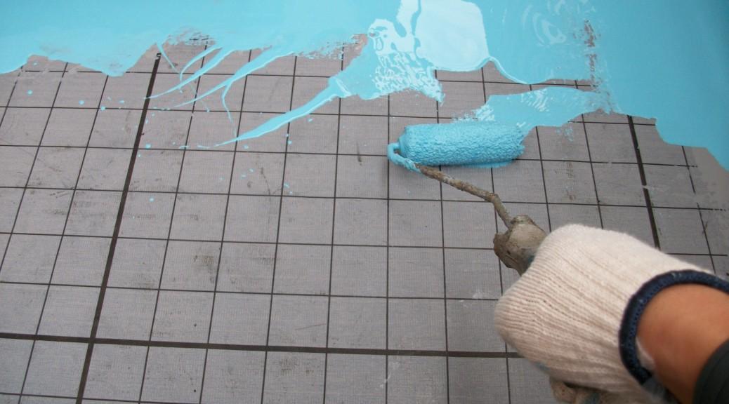 神奈川県横浜市のベランダの防水工事