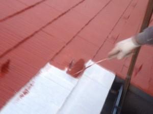 東京都足立区の屋根塗装での屋根補修工事