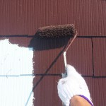 東京都足立区の屋根塗装工事の施工事例