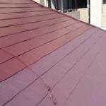 東京都羽村市の屋根塗装工事の施工事例