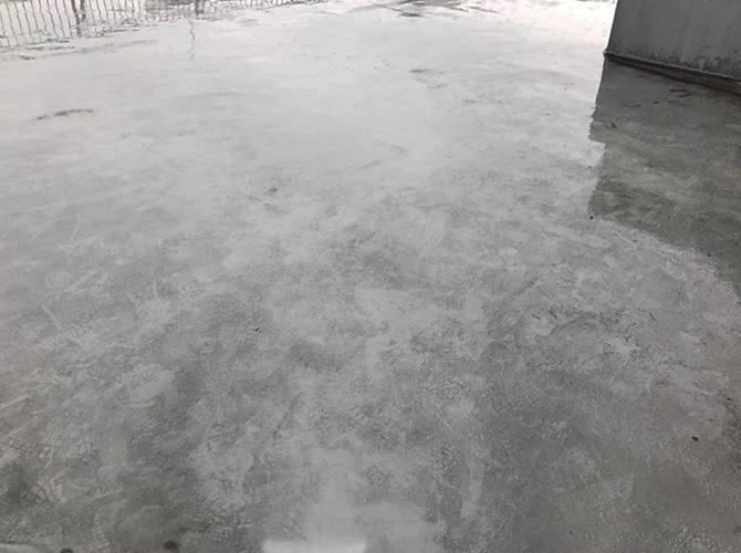 東京都北区マンションの屋上防水工事の施工前