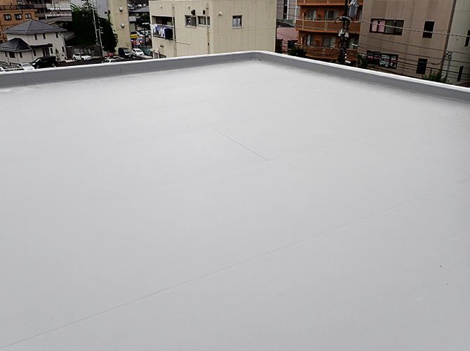 柏市マンションの屋上防水工事完了