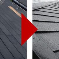 東京都足立区谷中の屋根塗装の施工事例