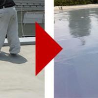 神奈川県横須賀市の屋上防水工事の施工事例