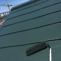 東京都江戸川区の屋根塗装工事の施工事例