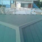 東京都葛飾区の屋根のカバー工法(重ね葺き)