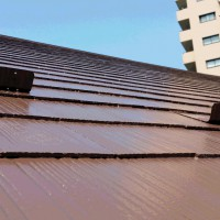 東京都江戸川区の屋根塗装工事の施工完了後