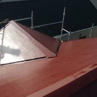 埼玉県草加市の屋根塗装工事の施工完了後