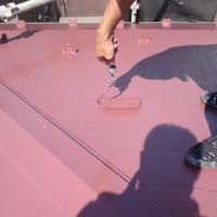 東京都葛飾区の屋根塗装工事の施工事例