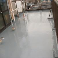 東京都大田区の防水工事の施工完了後