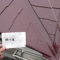 埼玉県鴻巣市の屋根塗装の施工完了後