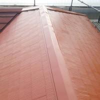 東京都足立区の屋根塗装工事の施工完了後