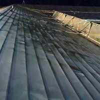 幼稚園の屋根塗装の施工完了後