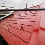 板橋区O様邸の屋根の塗装工事 – 屋根塗料に遮熱塗料を使ってエコリフォーム