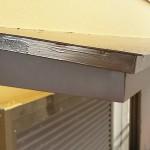印西市S様邸の霧除け破風補修工事 – 破風の補修工事の同時施工