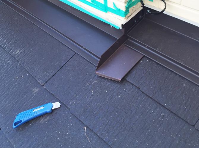 屋根材・板金の設置