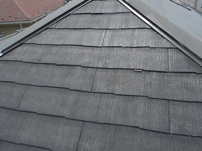 屋根のタスペーサー設置