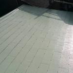 杉並区Sアパートの屋根塗り替え工事 – 棟板金修理と塗装工事で屋根リフォーム