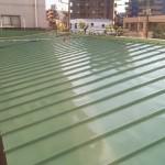 足立区Mアパートの屋根塗装工事 – 外壁と一緒に外装全体の塗装リフォーム