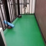 文京区T様邸のバルコニー防水工事 – バルコニーの定期的な修繕リフォーム