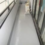 足立区Y様邸バルコニー防水工事 – バルコニーの床リフォーム工事