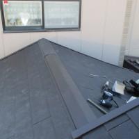 屋根葺き替え工事の施工完了後