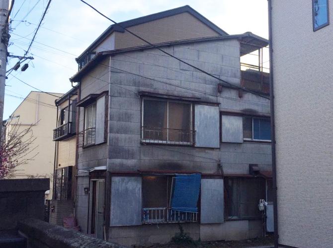 屋根塗装・外壁塗装工事の施工前