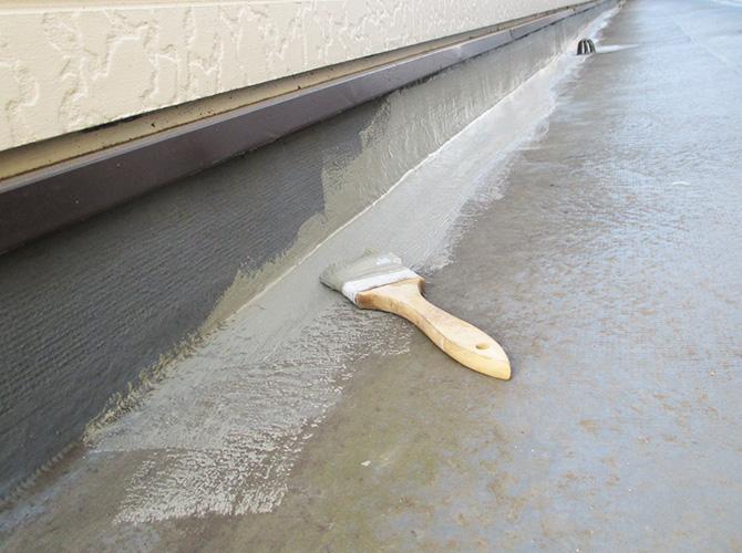 廊下の防水