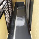 足立区I様邸のバルコニー防水工事 – 台風・暴風雨に備えて防水リフォーム