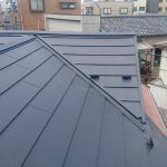 足立区K様邸の瓦屋根の葺き替え – スレート屋根に張り替えリフォーム