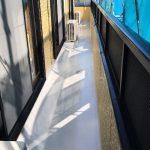 葛飾区H様邸のバルコニー防水工事 – バルコニーのウレタン防水リフォーム