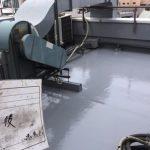 北区Nビルの屋上防水工事 – 屋上のウレタン防水修繕工事