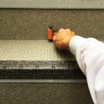 練馬区Fハイツの階段リフォーム – アパート外階段の長尺シート工事
