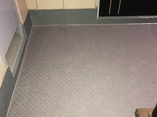 共用廊下の防水処理