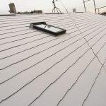 足立区K様邸の断熱塗装で屋根リフォーム – ガイナを使って塗り替え工事