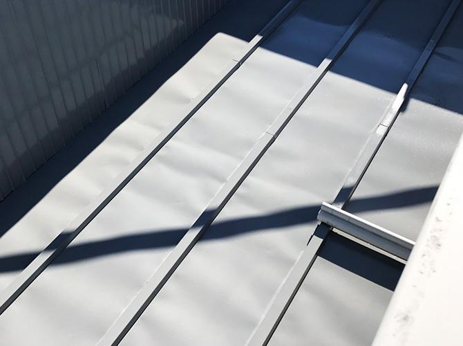 トタン屋根の塗り替え完了