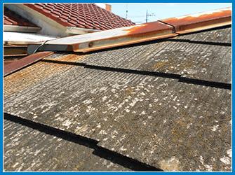 屋根工事施工前の屋根の劣化状況