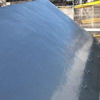 屋根防水工事の施工完了後