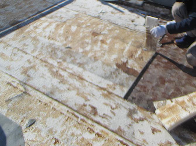 屋上の施工前の状態