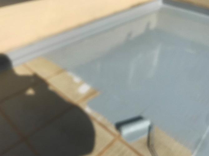 床部分のウレタン防水材の塗布