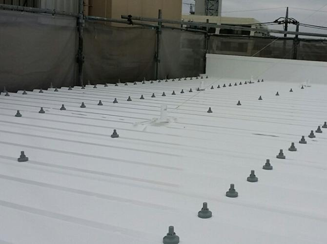 暑さ対策屋根の遮熱塗装工事の完了後