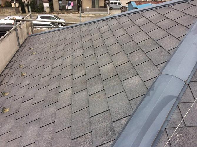 猛暑対策の屋根塗装工事の施工前