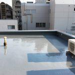 文京区Sマンションの屋上防水工事 – 屋上のウレタン防水リフォーム