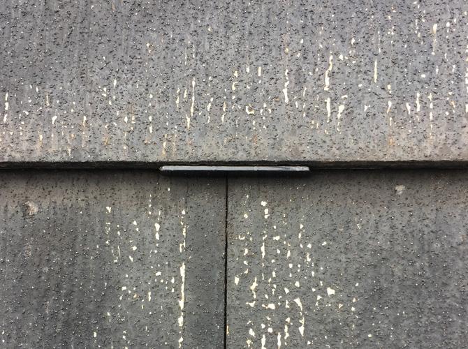 台風対策の屋根塗装の施工前