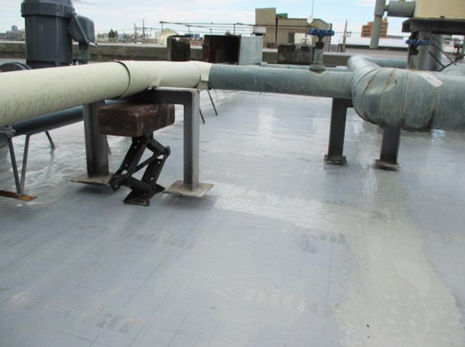 配管の架台
