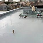 川口市C病院の屋上防水工事 – 病院の屋上ウレタン防水修繕工事