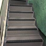 中野区Uマンションの共用階段長尺シート工事 – マンションの階段リフォーム