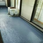 足立区A様邸のバルコニー防水リフォーム – 住宅バルコニーのFRP防水工事